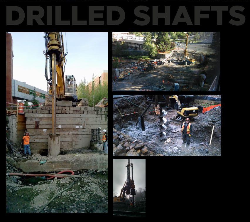 hp civil drilled shafts
