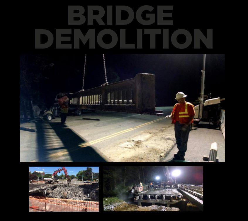 hp civil bridge demolition
