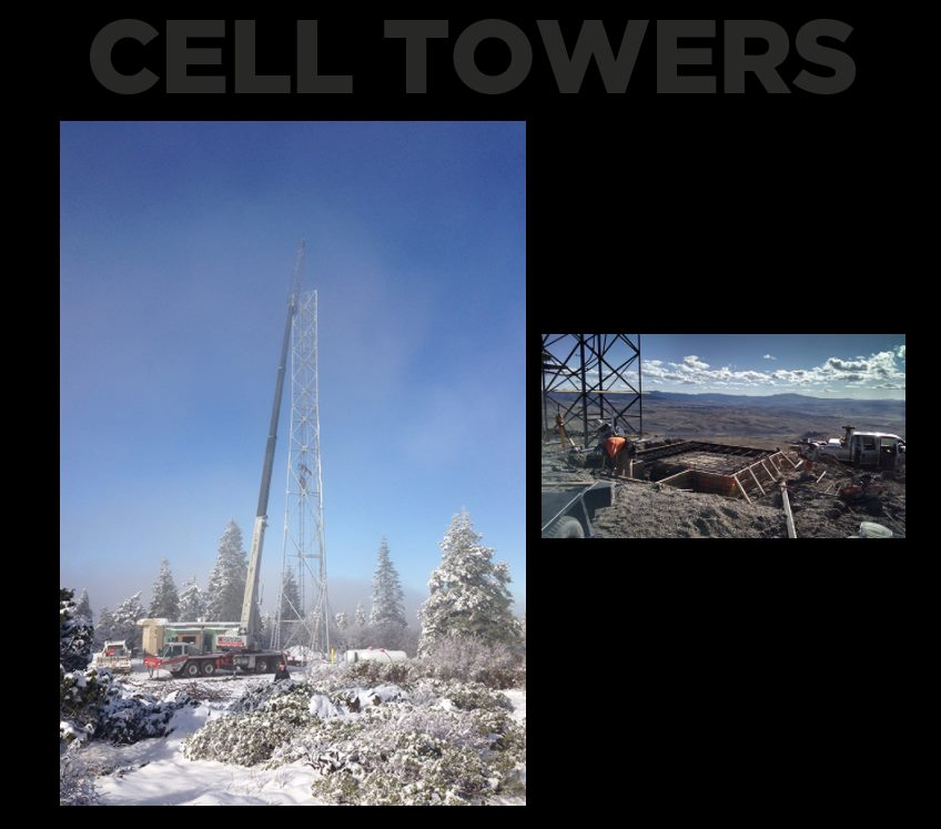 hp civil cell towers