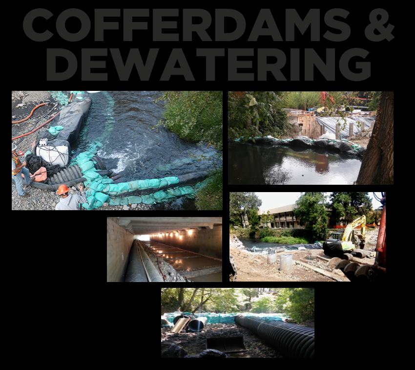 hp civil coffer dams and Dewatering