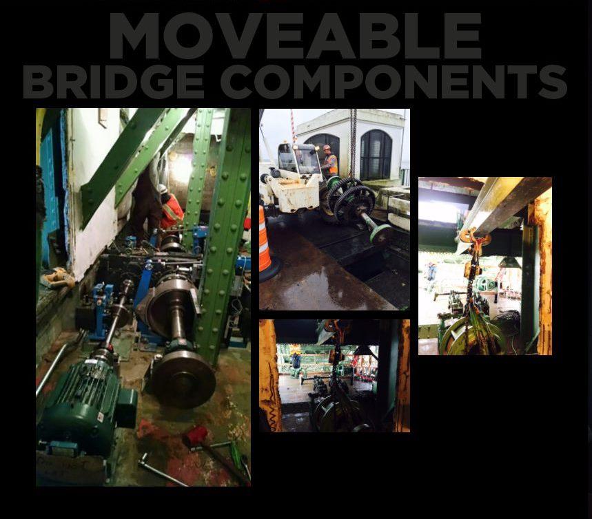 hp civil Moveable Bridge Components