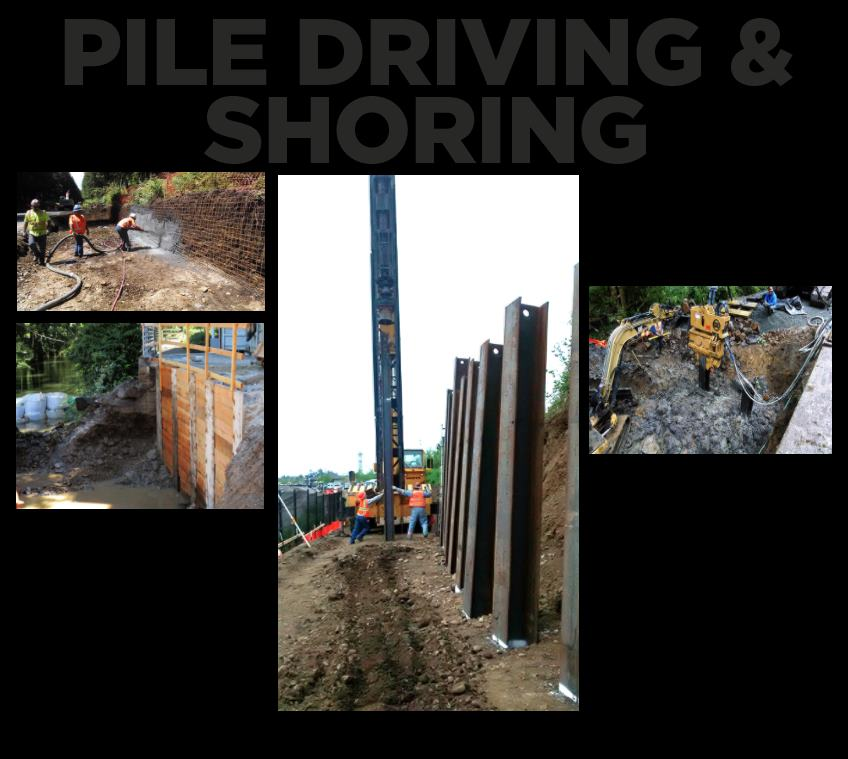 hp civil Pile Driving and Shoring