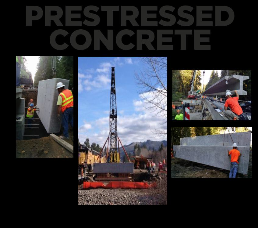 hp civil Prestressed Concrete