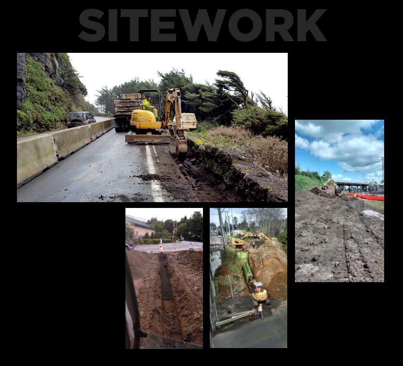 hp civil Sitework